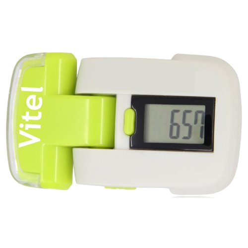 Digital Flashlight Pedometer