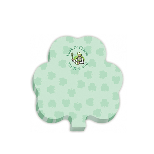 Shamrock Sticky Note Pad