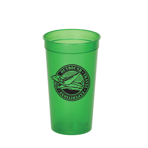 Translucent Stadium Cup