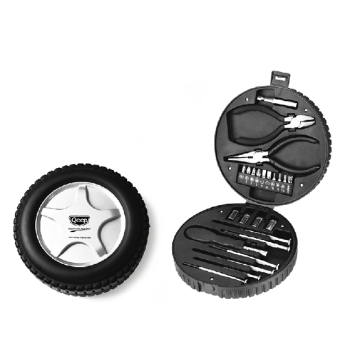 Tire Shaped Tool Boxes