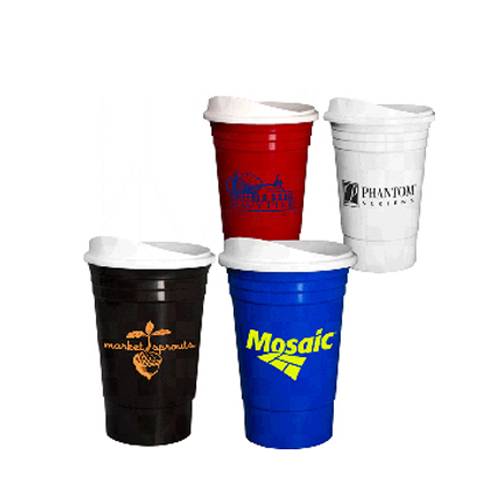 Plastic Cup With Lid