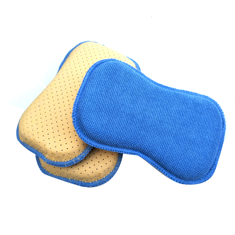 Small Shaped Microfiber Sponge